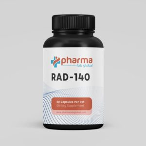 RAD 140 Pharma Lab Global Capsules Front